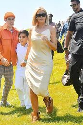 dress,celebrity,celebrity style,khloe kardashian,kardashians,midi dress,coachella