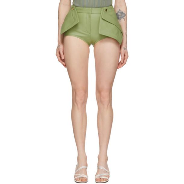 Jacquemus Green Le Short Boca Shorts