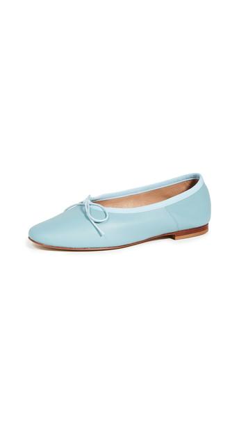 Mansur Gavriel Dream Ballerina Flats in blue