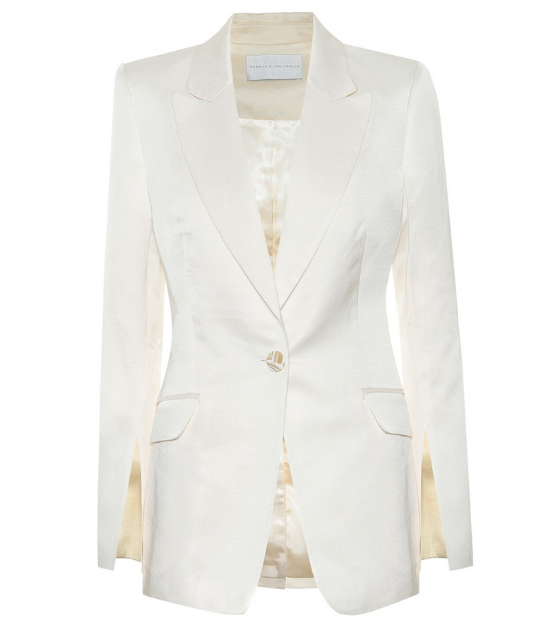 Rebecca Vallance Aimee blazer in white