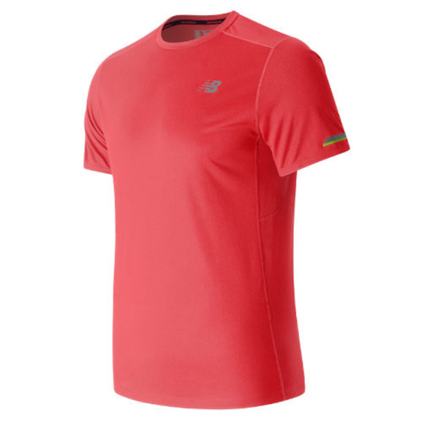 New Balance 63223 Men's NB Ice Short Sleeve - Red (MT63223BRC)