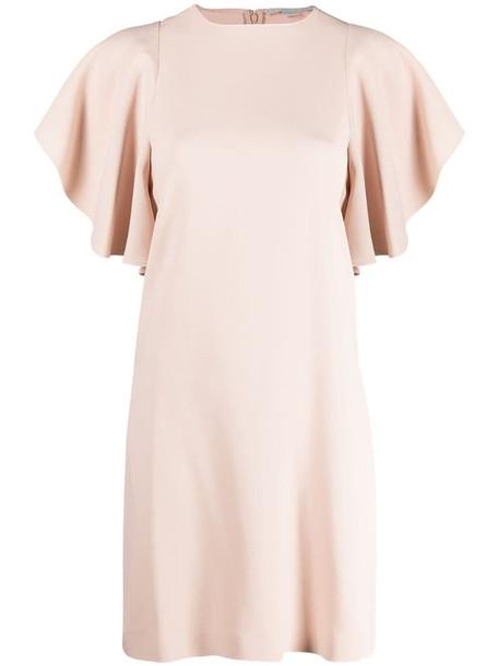 Stella McCartney ruffled-sleeves dress in pink
