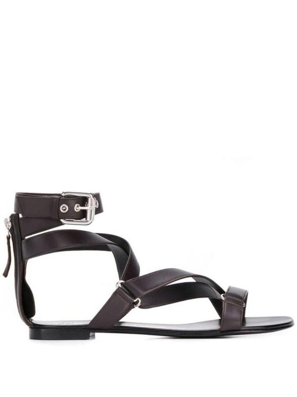 Giuseppe Zanotti multi-strap sandals in brown