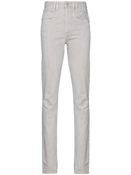 Isabel Marant Nominic skinny jeans in grey