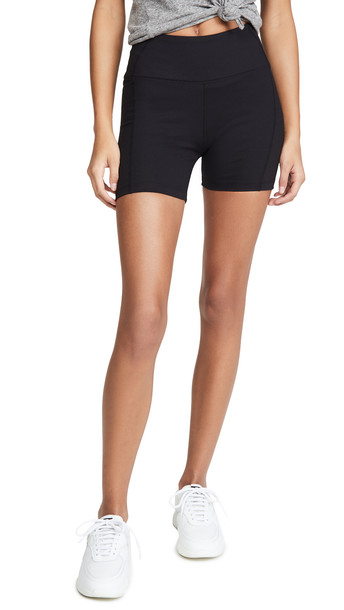 Year of Ours Short Shorts in black
