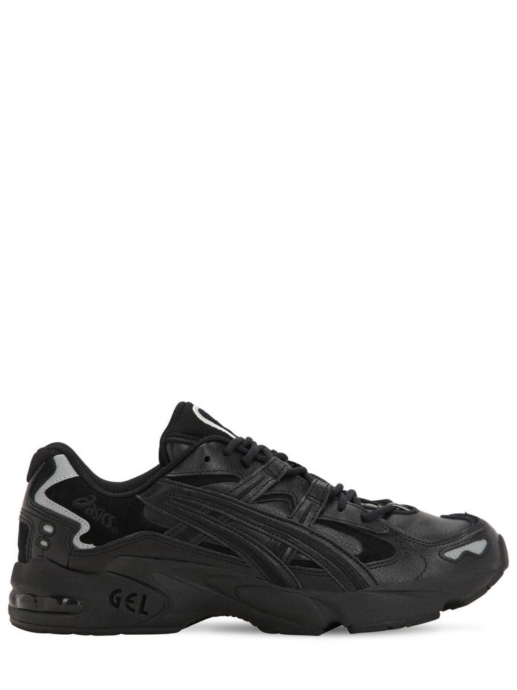 ASICS Kayano 5 Og Leather & Suede Sneakers in black