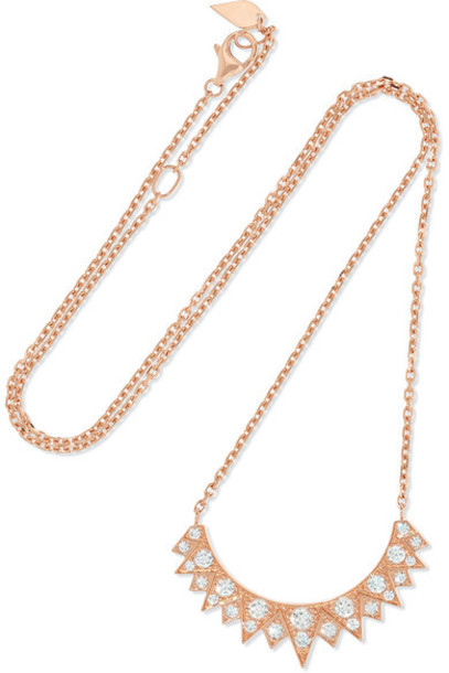 Piaget - Sunlight 18-karat Rose Gold Diamond Necklace