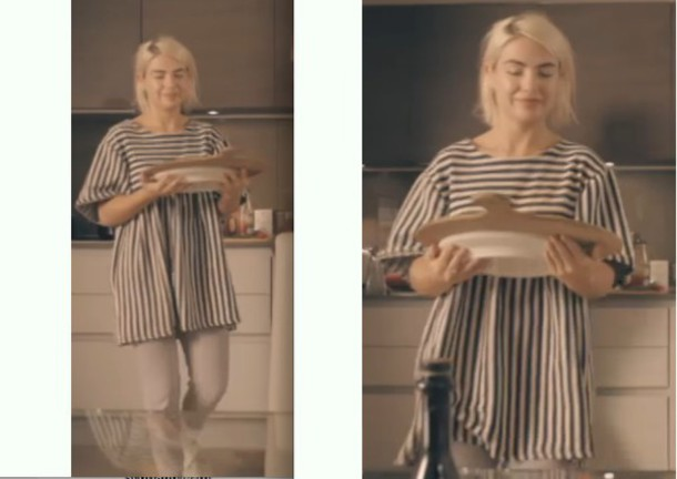 blouse jessica anne woodley stripes