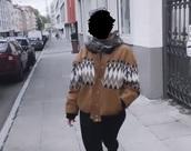 jacket,leather,hippie,pattern,brown,indian,boho