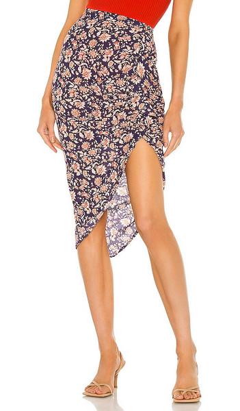 Veronica Beard Hazel Skirt in Purple in multi
