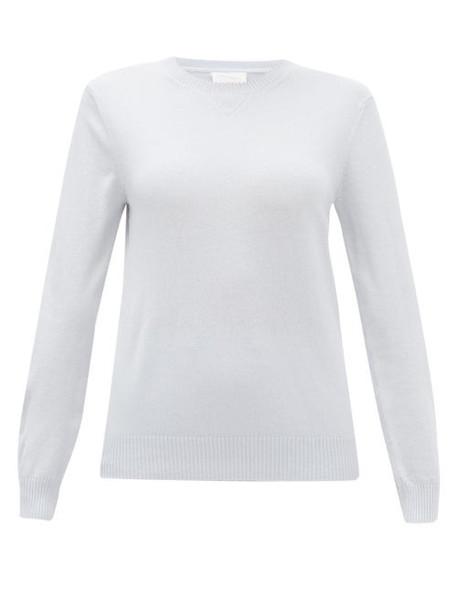 Derek Rose - Finley Cashmere Sweater - Womens - Light Blue