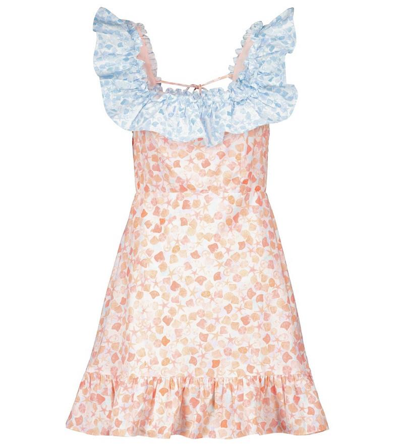 RIXO Kai floral minidress in pink