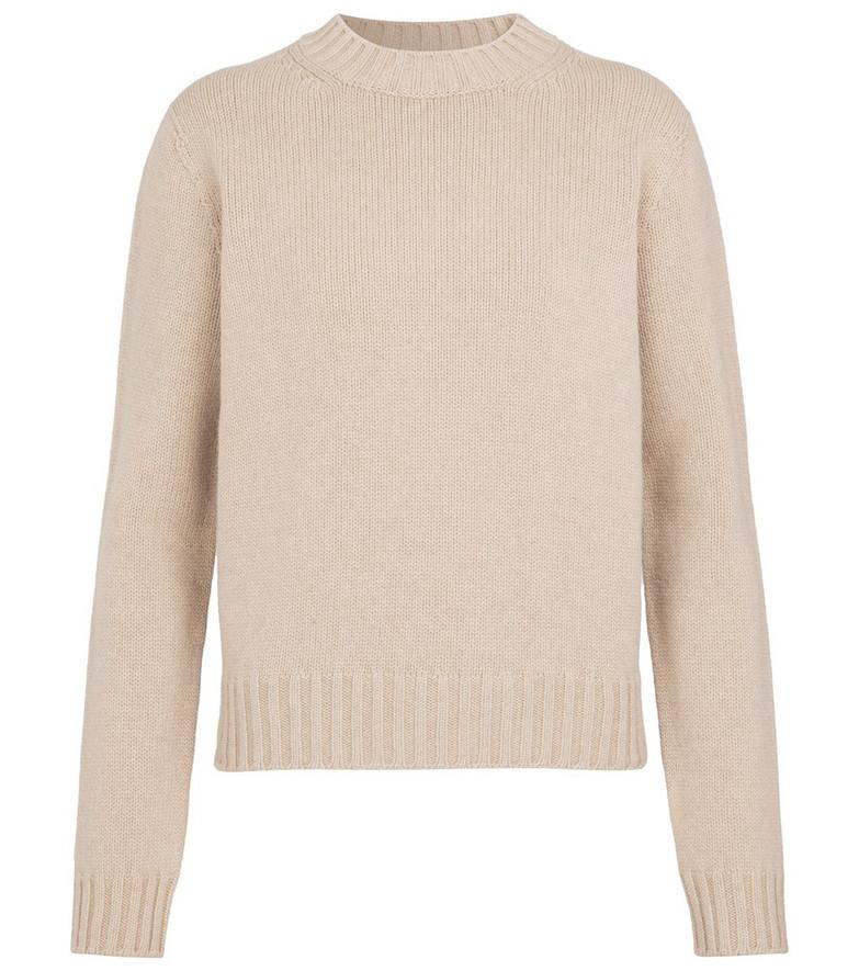 Max Mara Lodi wool and cashmere sweater in beige