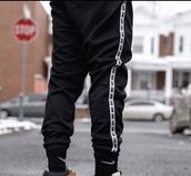 pants,nike sweatpants black