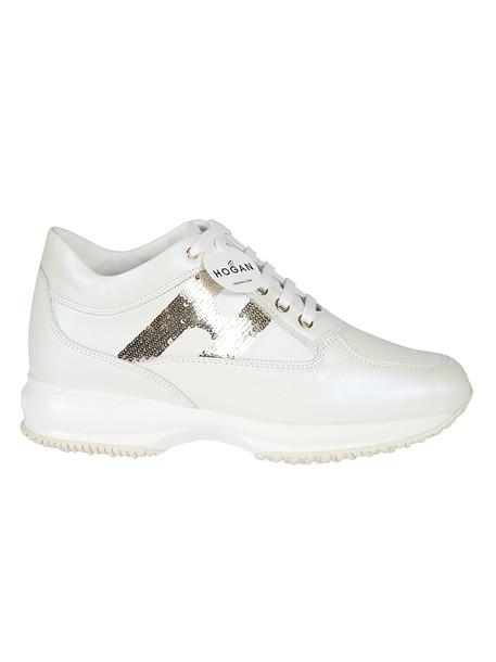 Hogan Interactive Sneakers in bianco