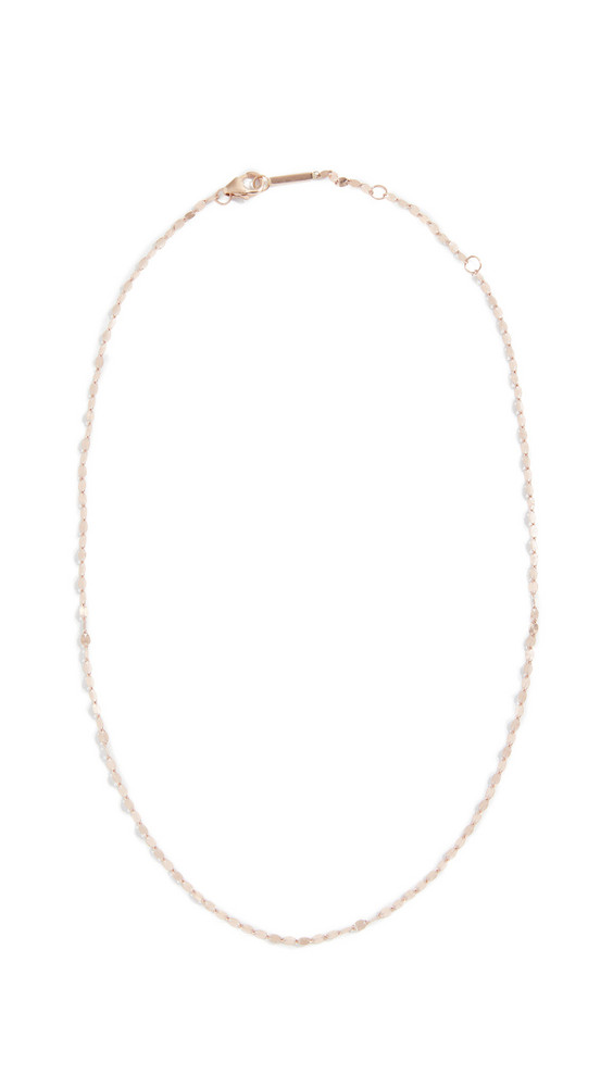 Lana Jewelry 14k Blake Chain Choker Necklace in gold / rose