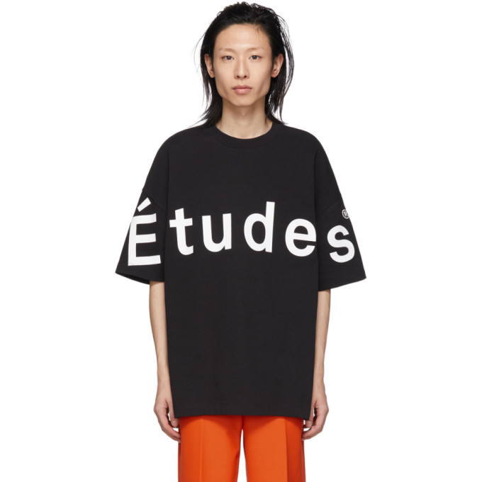 Études Études Black Contributor T-Shirt