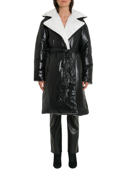 Givenchy Logo Puffed Coat in nero