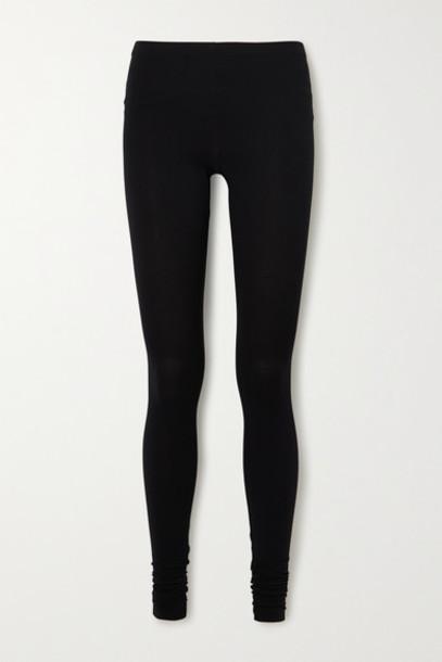 Rick Owens - Lilies Stretch-jersey Leggings - Black