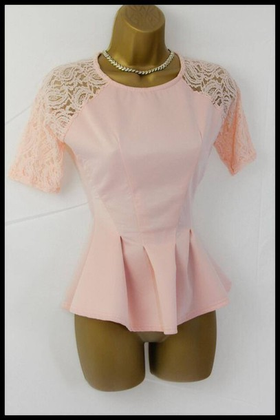 top peplum peplum top tight tight top baby pink pink pink top roses net spring outfits pretty