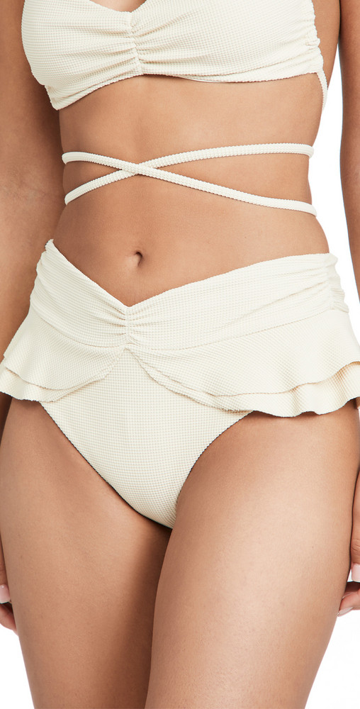 Devon Windsor Crosby Bikini Bottoms in cream