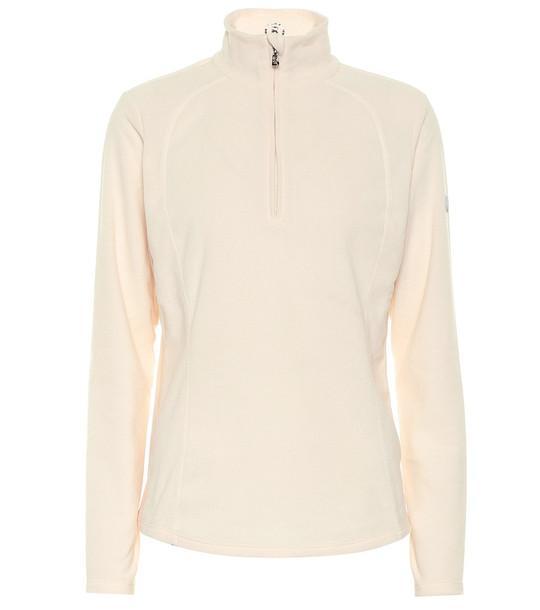 Bogner Madita fleece sweater in beige