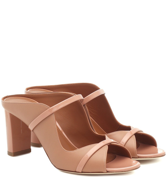 Malone Souliers Norah 70 leather sandals in brown