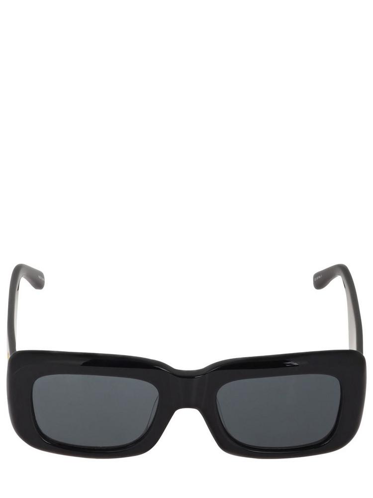 THE ATTICO Marfa Squared Bio-acetate Sunglasses in black / grey