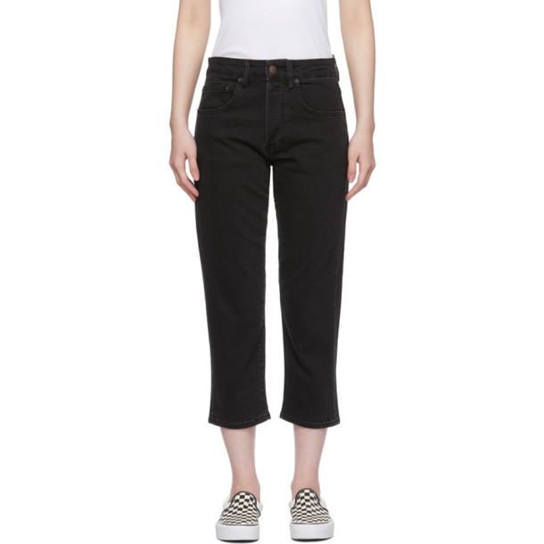 6397 Black Shorty Jeans
