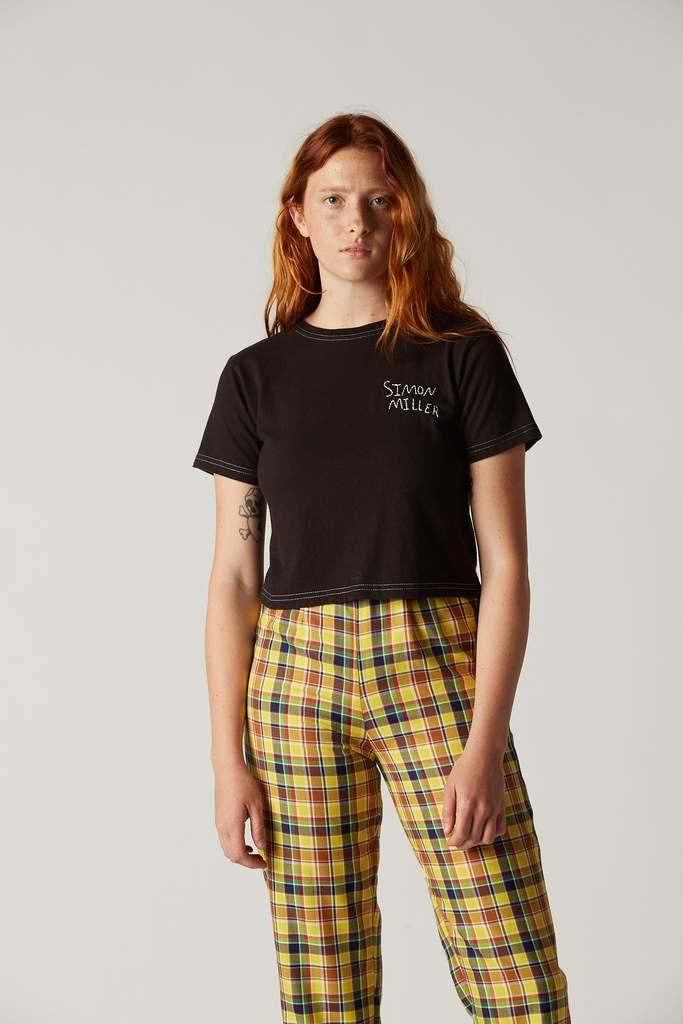 W360 Rondo Cropped Tee in Black