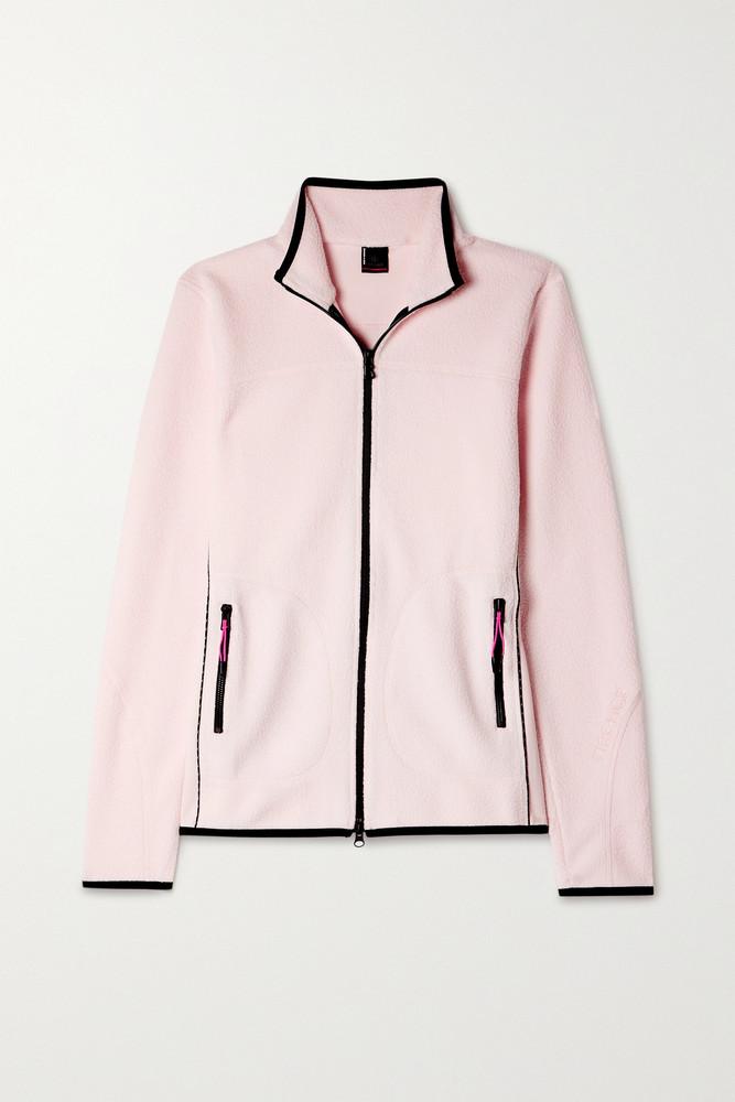 BOGNER FIRE+ICE BOGNER FIRE+ICE - Gilda Jersey-trimmed Fleece Jacket - Pink