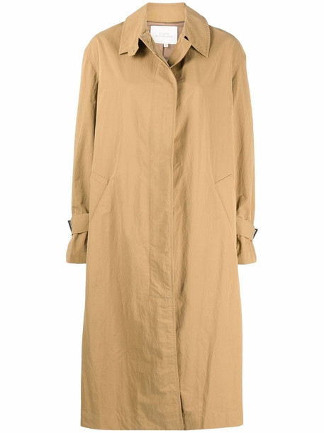 Studio Nicholson Holin single-breasted coat - Neutrals
