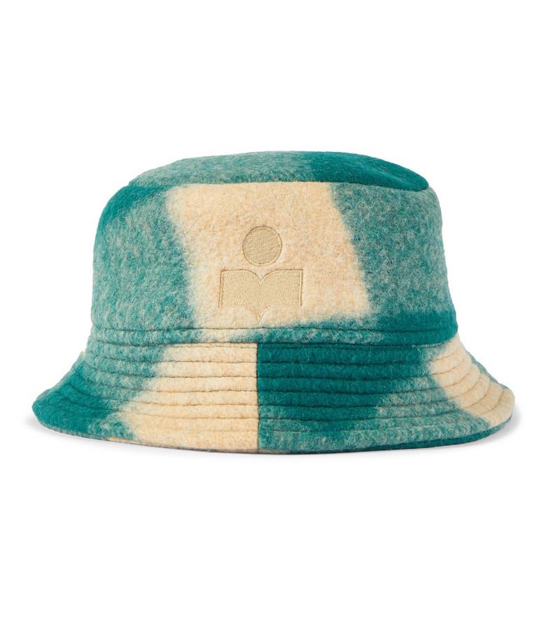 Isabel Marant Loiena wool-blend bucket hat in green