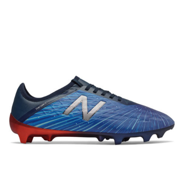New Balance Blue Lite Shift LE Men's Soccer Shoes - Blue/Red/Silver (MSFLFBR5)