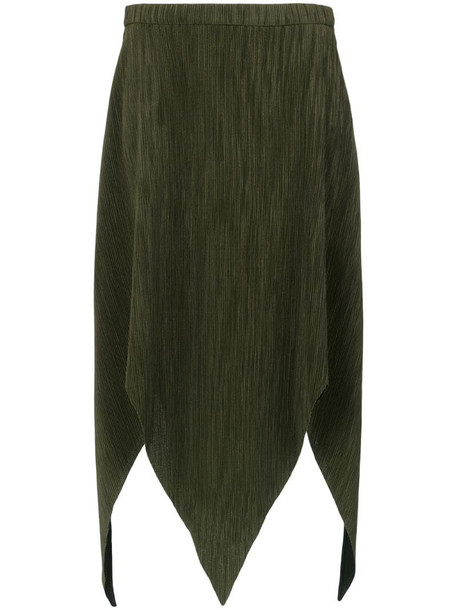 Olympiah Laria midi skirt in green