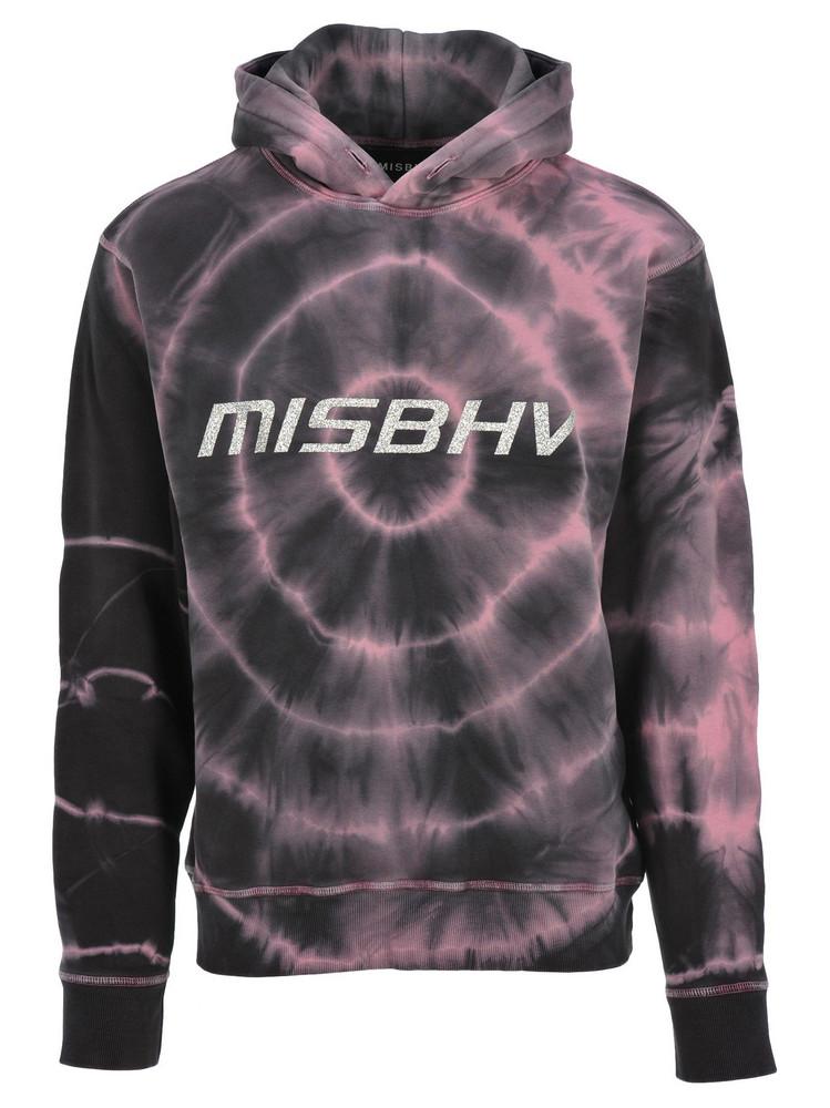 Misbhv Misbhv Tokyo Tie Dye Hoodie in black