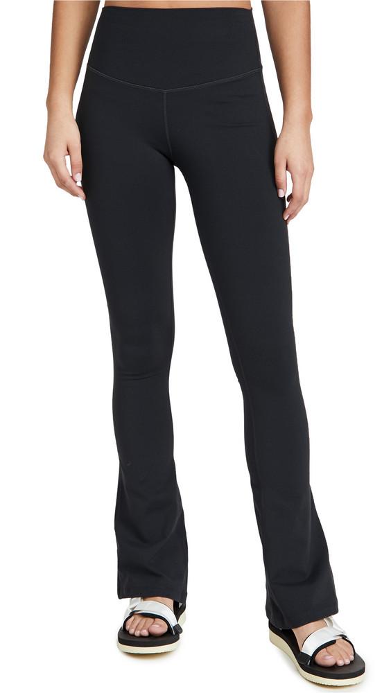Splits59 Raquel High Waist Flare Leggings in black