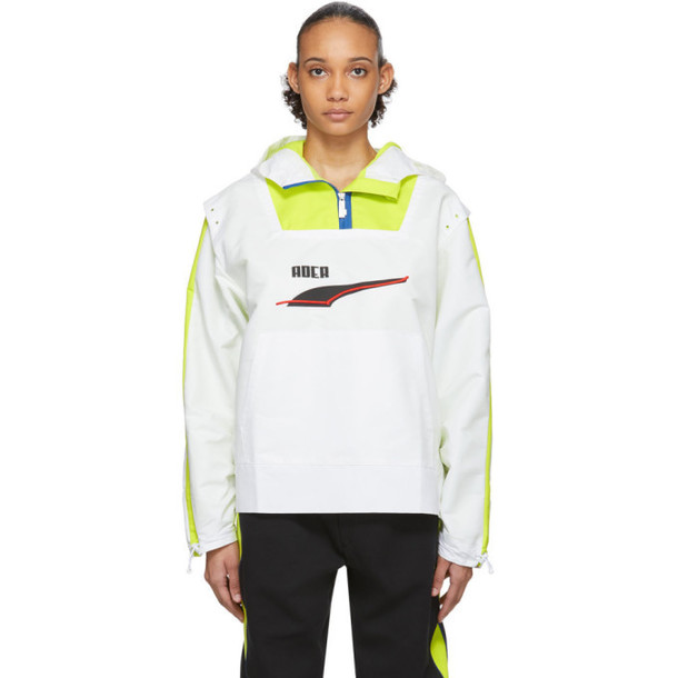 ADER error White Puma Edition Windbreaker Jacket