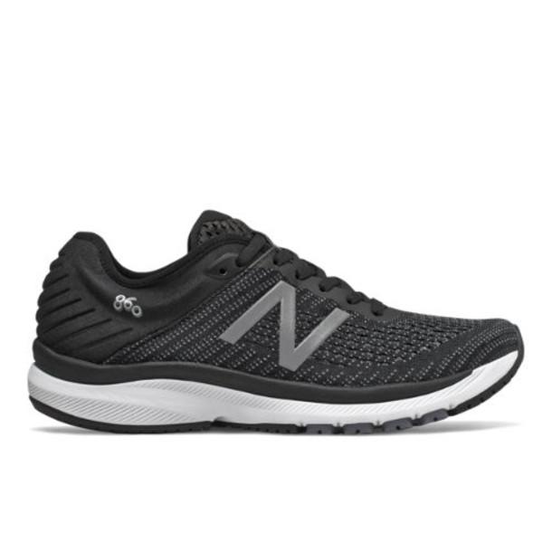 New Balance 860v10 Women's Stability Shoes - Black/Grey (W860K10)