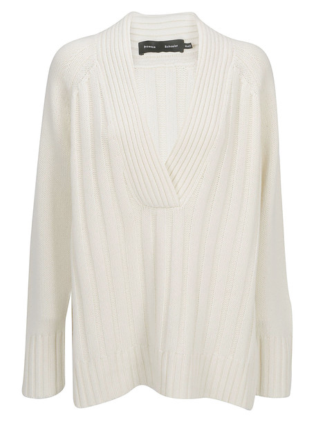 Proenza Schouler Sweater in ecru