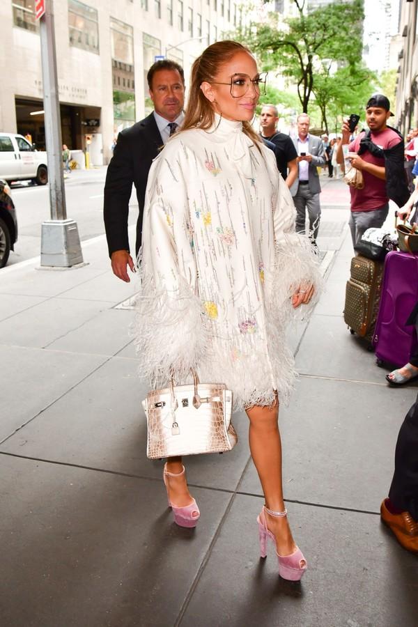 shoes platform sandals suede suede sandals jennifer lopez celebrity jacket
