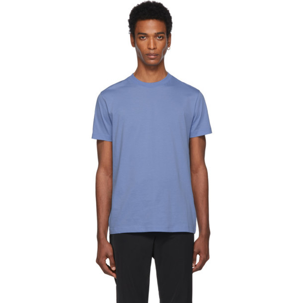 Prada Three-Pack Blue Jersey T-Shirt