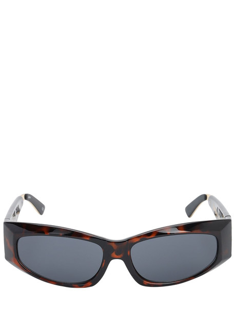 LE SPECS The Edge Sunglasses in gold / leopard