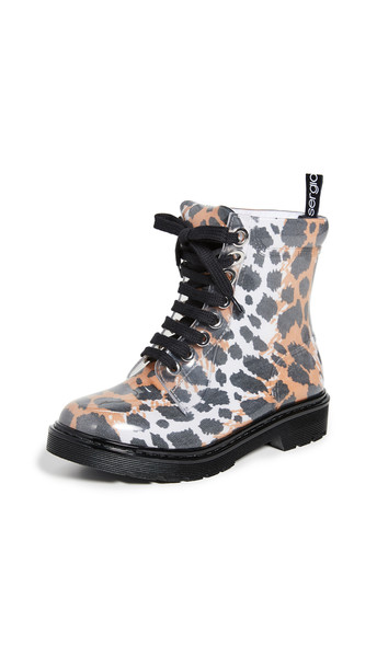 Sergio Rossi Winter Jelly Boots in bianco