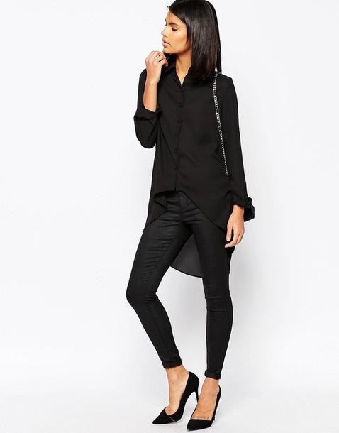shirt black shirt