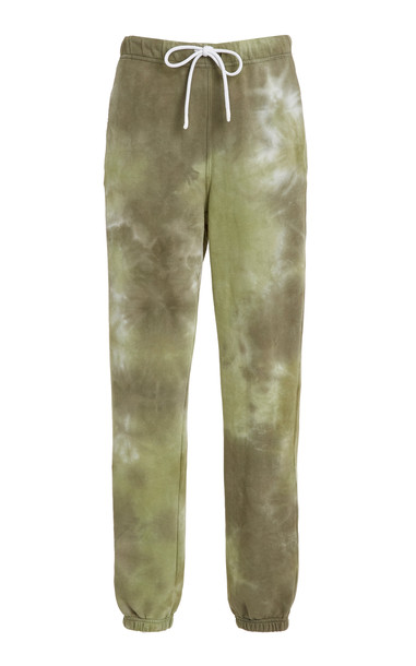 Cotton Citizen Milan Tie-Dyed Cotton Sweatpants in multi