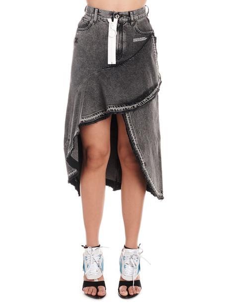 Off-white Skirt in grey
