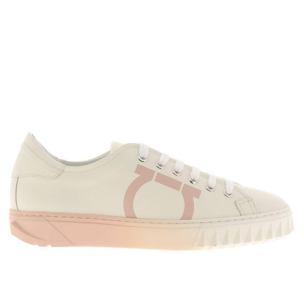 Salvatore Ferragamo Sneakers Shoes Women Salvatore Ferragamo in white