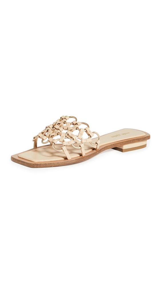 Cult Gaia Bea Sandals in sand