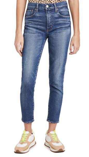 MOUSSY VINTAGE Tamworth Skinny Hi Jeans in blue